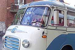 Stadtrundfahrt mit Oldtimer Bus