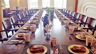 Vereinsfeier Hamburg mit Frühstück