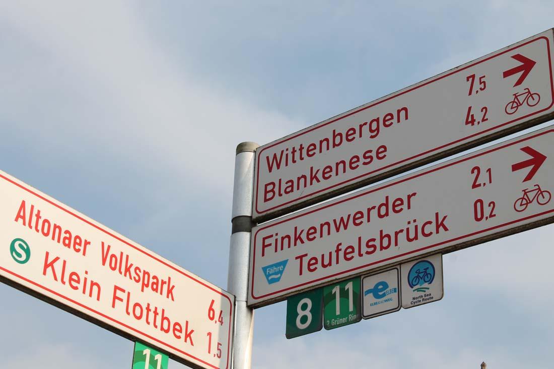 Elbwanderweg Hamburg