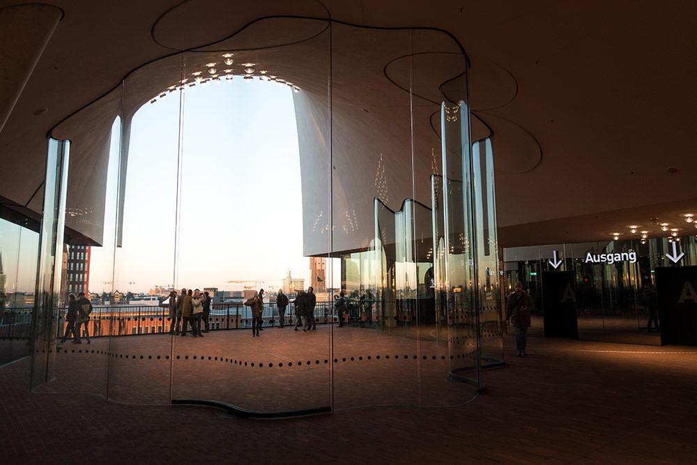 Elbphilharmonie Hamburg Führung mit Plaza Aussenterrasse
