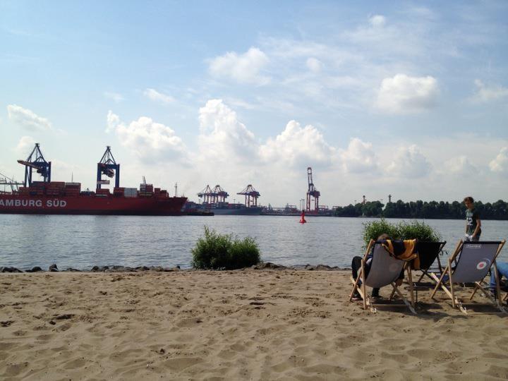 An der Strandperle