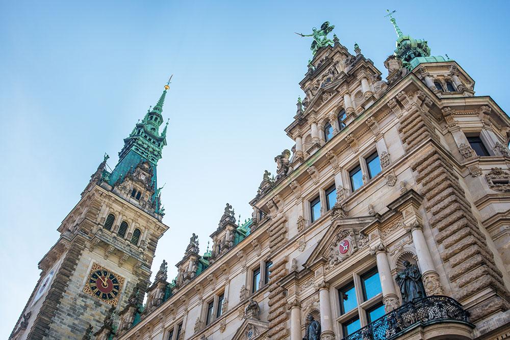 Hamburg Rathaus Führung