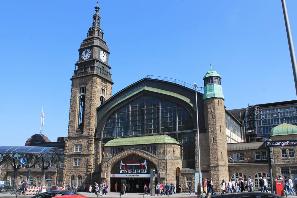 Innenstadt Hamburg Hauptbahnhof
