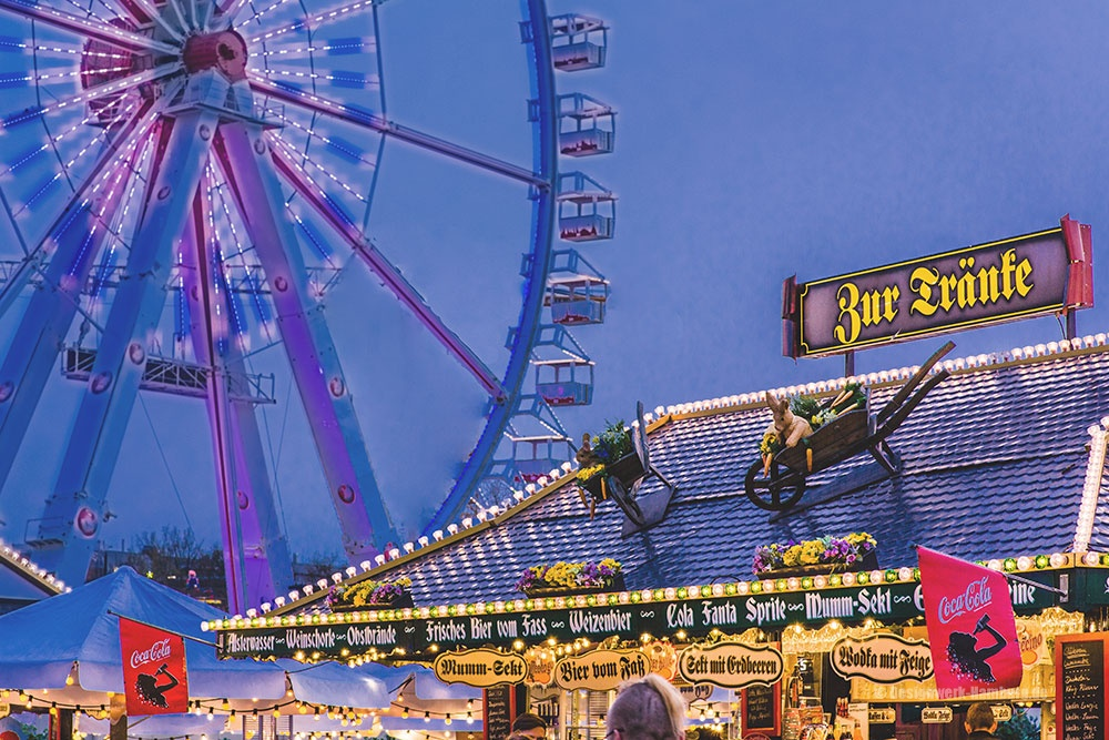 Der Hamburger Dom - das größte Volksfest im Norden