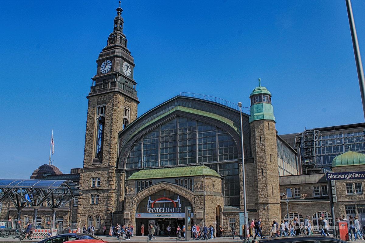 Der Hamburger Hauptbahnhof entstanden 1906